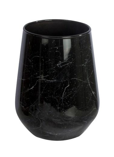 Rakle Marble Şarap & Meşrubat Bardağı Siyah